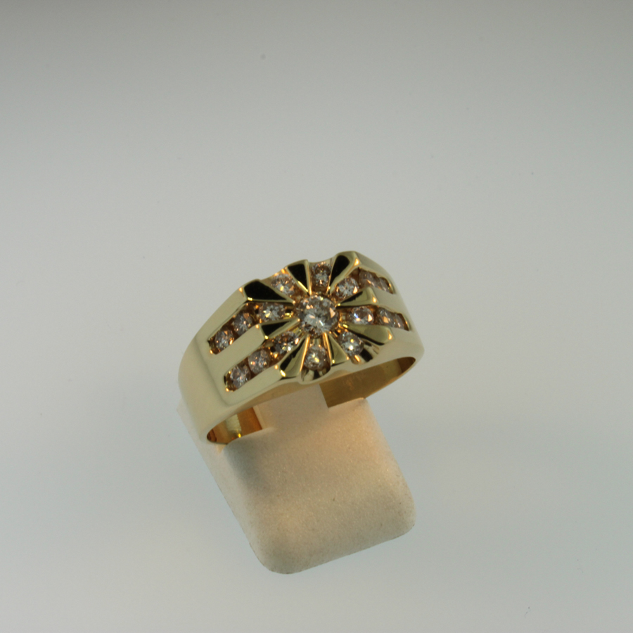 Mens Diamond Ring 19558