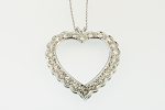 Diamond Heart Pendant 19033