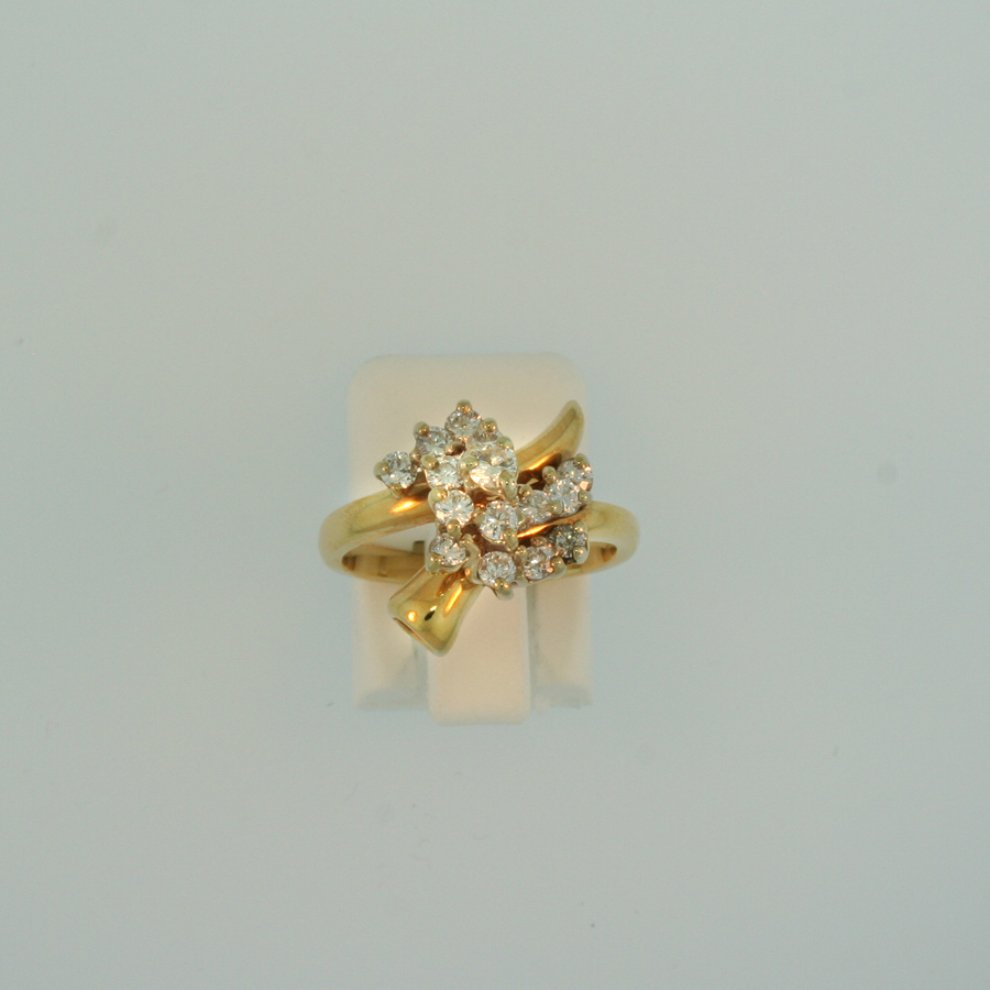 Diamond Cluster Ring 16474