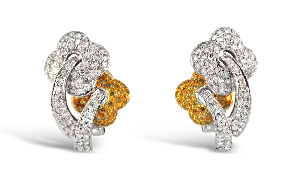 Flower Style Earrings 19095