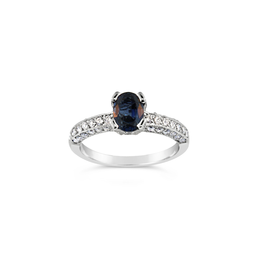 Sapphire and Diamond Ring 19790