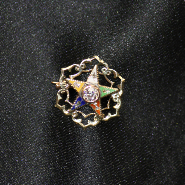 Eastern Star Pin 18719