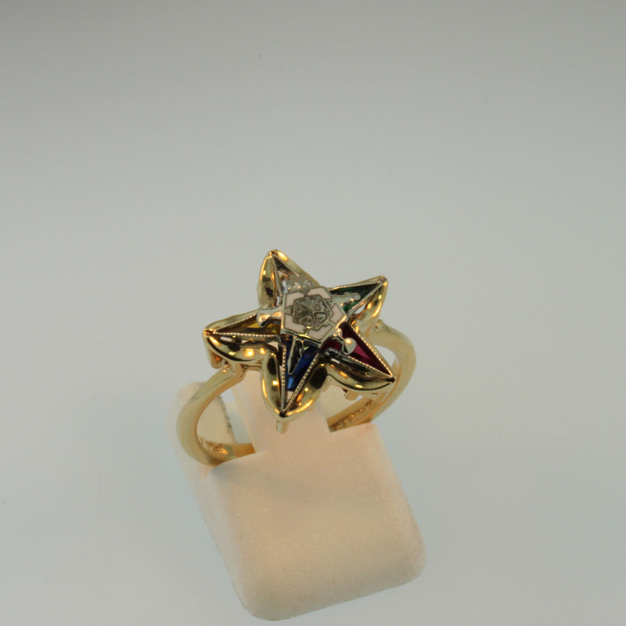 Eastern Star Ring  19365