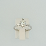 Marquise Shaped Diamond Ring 15974