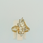 Diamond Cluster Ring 17292