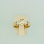 Oval Diamond Ring 17565