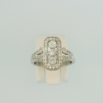 Diamond Cluster Ring 17701