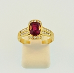 Ruby and Diamond Ring 18229