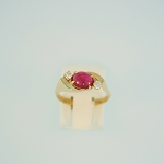 Ruby and Diamond Ring 18552