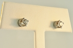 Diamond Stud Earrings 18620