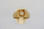 Nugget Style Diamond Ring 18958