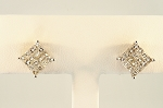 Diamond Earrings 18968