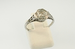 Filigree Diamond Ring 19015