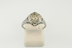 Filigree Diamond Ring 19020