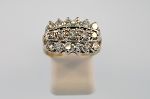 Diamond Cluster Style Ring 19096