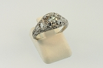 Antique Style Diamond Ring 19166