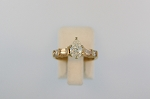 Pear Shaped Diamond Ring  19205