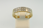 Princess Cut Diamond Band  19264