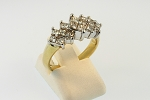 Diamond Cluster Style Ring 19303