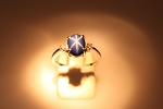 Blue Linde Star Sapphire Ring  19369