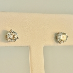 Diamond Stud Earrings 19627