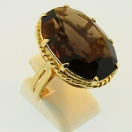 Smokey Quartz Ring 19700