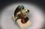 Opal Bypass Style Ring 19714
