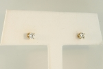 Diamond Stud Earrings 19757