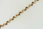 Ruby and Diamond Bracelet 19782