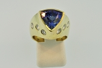 Tanzanite and Diamond Ring 19799