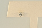 Single Diamond Stud Earring 20029
