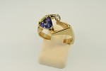 Free Form Tanzanite Ring 20128