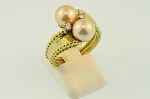 Pearl and Diamond Ring 20145