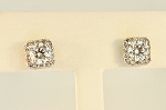 Halo Style Diamond Earrings 20202
