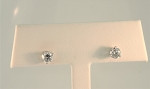 Diamond Stud Earrings 20249