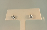Diamond Stud Earrings 20322