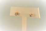 Diamond Stud Earrings 20337
