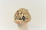 Lion Head Ring 20378