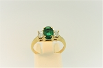 Emerald and Diamond Ring 20399