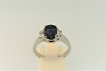 Sapphire and Diamond Ring 20401