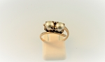Double Pearl Ring 3033