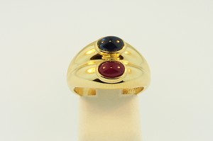 Ruby and Sapphire Ring 19039