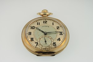 Open Face Pocket Watch 19254
