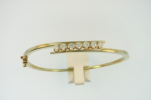 Diamond Bangle Bracelet 19261