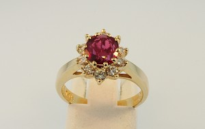 Ruby and Diamond Ring 19326