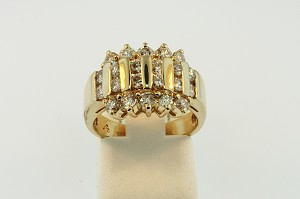 Diamond Cluster Ring 19781
