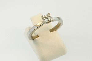 Solitaire Diamond Engagement Ring 19867