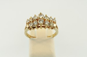 Diamond Cluster Style Ring 20143